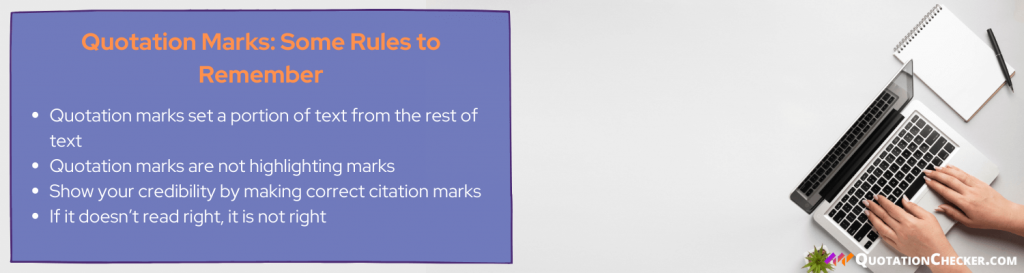grammar check quotation marks periods